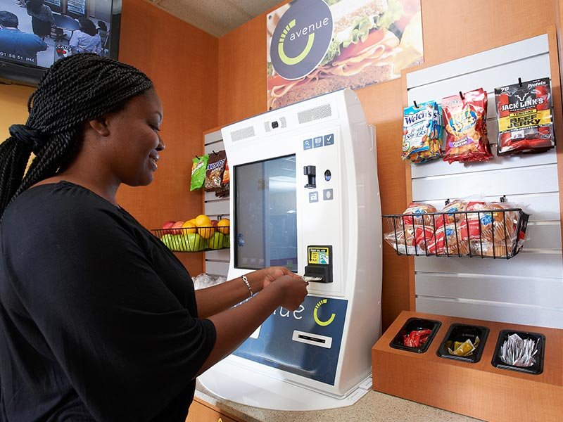 Micro-market self serve kiosk in Green Bay and Northern Wisconsin