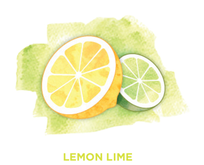 Lemon lime Bevi Cooler water flavor