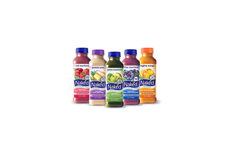 Naked fruit juice