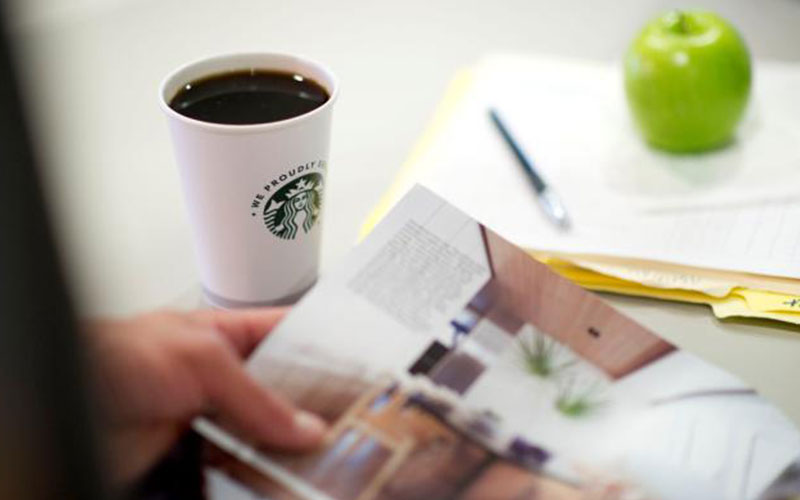 Starbucks coffee products and services for Green Bay & Northeast Wisconsin offices
